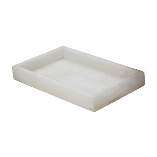 Dimond Lighting White Alabaster Vanity Tray 786024