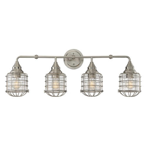 Savoy House Savoy House Lighting Connell Satin Nickel Bathroom Light 8-575-4-SN