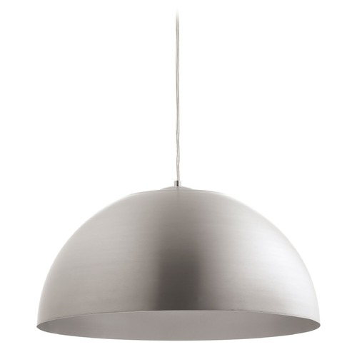 Progress Lighting Progress Lighting Dome Satin Aluminum LED Pendant Light P5342-1630K9