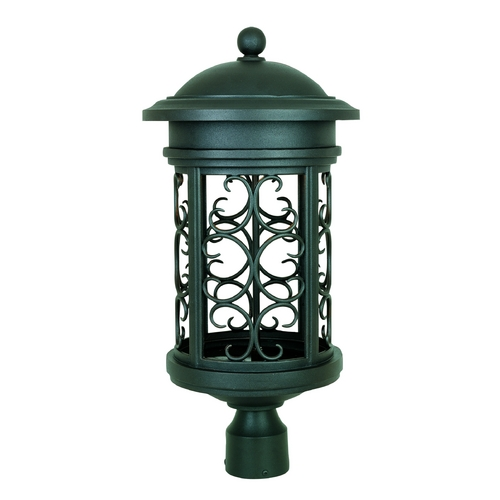 Designers Fountain Lighting Post Light in Oil Rubbed Bronze Finish 31136-ORB