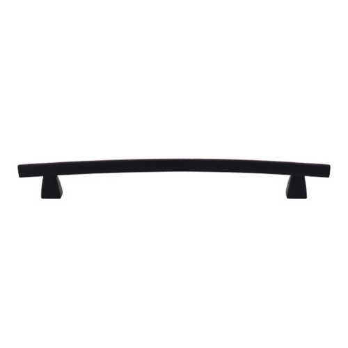 Top Knobs Hardware Modern Cabinet Pull in Flat Black Finish TK5BLK