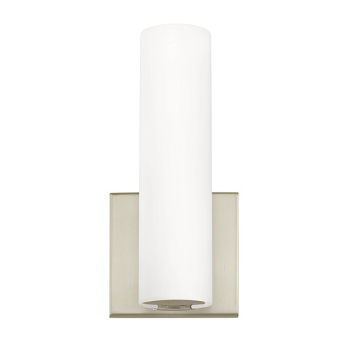 Dolan Designs Lighting Modern LED Wall Sconce Satin Nickel Finish 1296-09