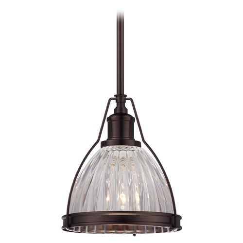 Minka Lavery Mini-Pendant Light with Clear Glass 2242-267C