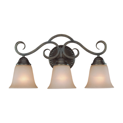 Jeremiah Lighting Jeremiah Gatewick Century Bronze Bathroom Light 26003-CB