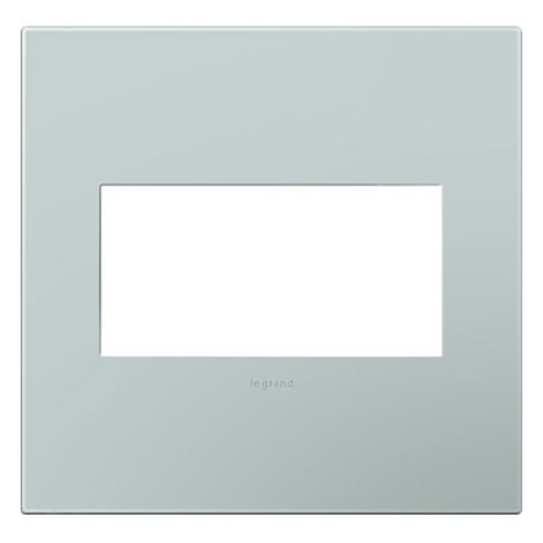 Legrand Adorne Legrand Adorne Pale Blue 2-Gang Switch Plate AWP2GBL4