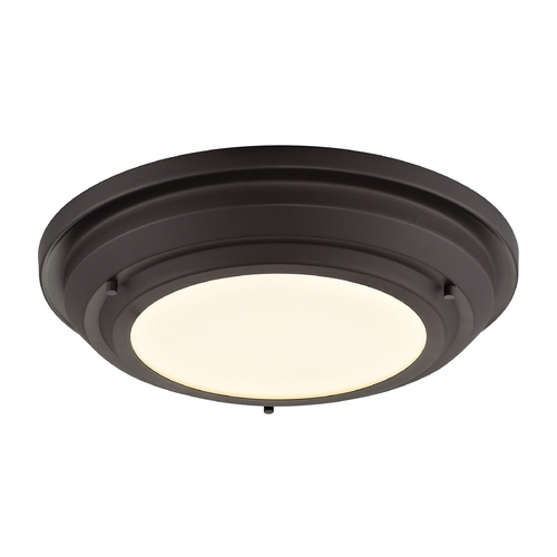 Elk Lighting LED Flushmount Light in Oil Rubbed Bronze Finish 57020/LED