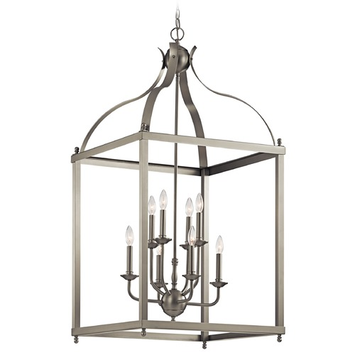 Kichler Lighting Kichler Lighting Larkin Brushed Nickel Pendant Light 42591NI