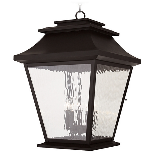 Livex Lighting Livex Lighting Hathaway Bronze Outdoor Hanging Light 20247-07