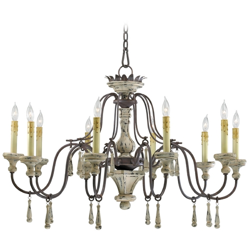 Cyan Design Cyan Design Provence Carriage House Chandelier 6513-10-43