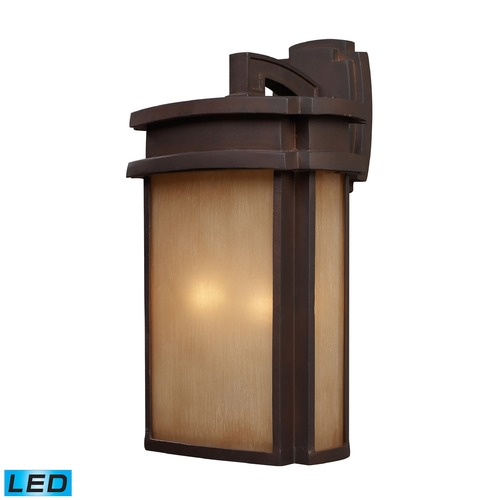 Elk Lighting Elk Lighting Sedona Clay Bronze LED Outdoor Wall Light 42142/2-LED