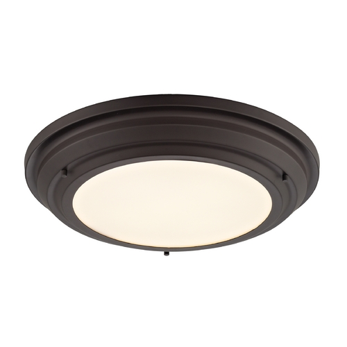 Elk Lighting LED Flushmount Light in Oil Rubbed Bronze Finish 57021/LED