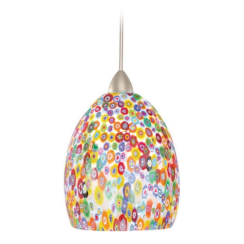 WAC Lighting WAC Lighting European Collection Chrome LED Track Pendant QP-LED515-MF/CH