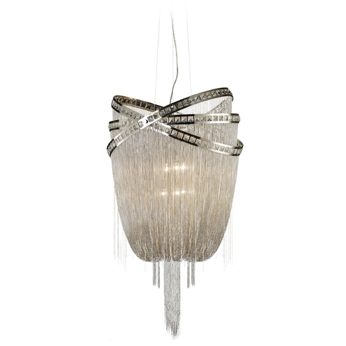 Avenue Lighting Avenue Lighting Wilshire Blvd Polished Nickel Pendant Light HF1609-NCK