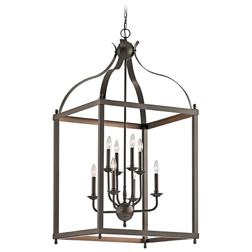 Kichler Lighting Kichler Lighting Larkin Olde Bronze Pendant Light 42591OZ