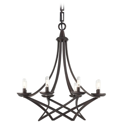 Savoy House Savoy House English Bronze Chandelier 1-6824-8-13