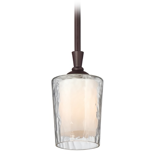 Quoizel Lighting Mini-Pendant Light with White Glass ADS1504DC