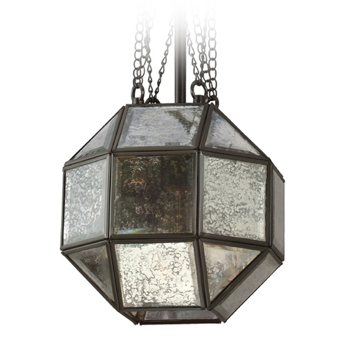 Sea Gull Lighting Sea Gull Lighting Lazlo Heirloom Bronze Pendant Light with Octagon Shade 6535401-782