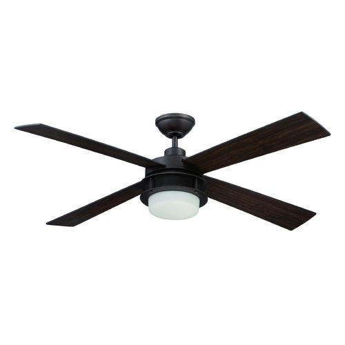 Craftmade Lighting Craftmade Lighting Urban Breeze Espresso Ceiling Fan with Light UBR52ESP4