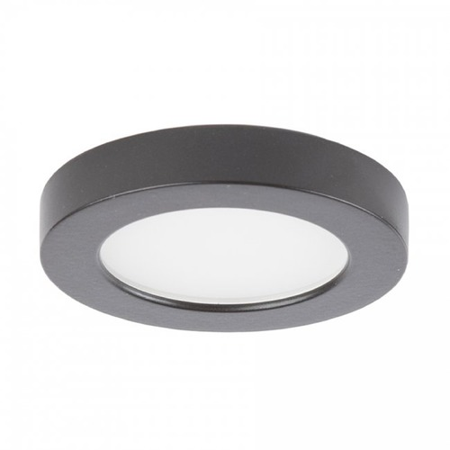 WAC Lighting WAC Lighting Edge Lit Button Light Brushed Nickel 3-Inch LED Under Cabinet Puck Light HR-LED90-30-DB