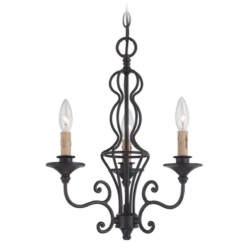 Designers Fountain Lighting Designers Fountain Tangier Natural Iron Chandelier 85583-NI