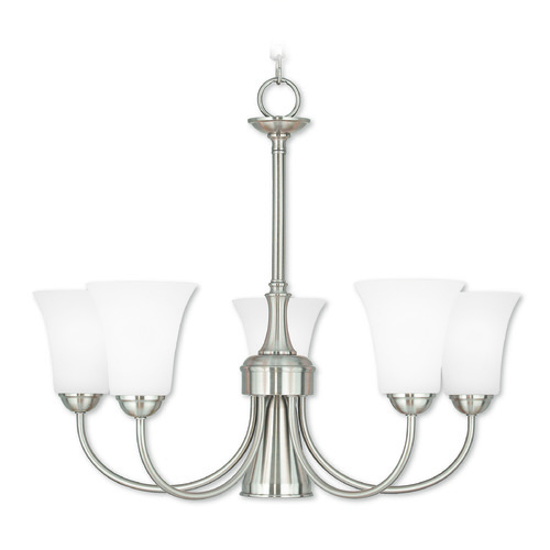 Livex Lighting Livex Lighting Ridgedale English Bronze Chandelier 6465-91