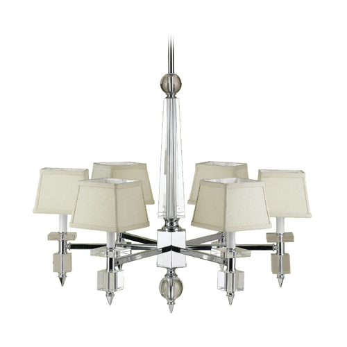 AF Lighting Cluny Chandelier 6679-6H