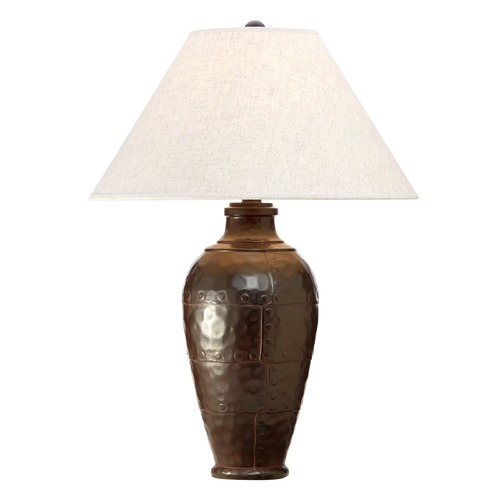 Robert Abbey Lighting Table Lamp with Linen Shade 9939KRST