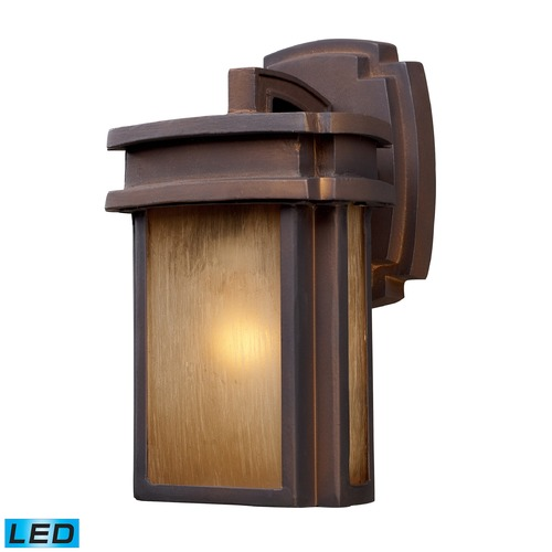 Elk Lighting Elk Lighting Sedona Hazlenut Bronze LED Outdoor Wall Light 42146/1-LED