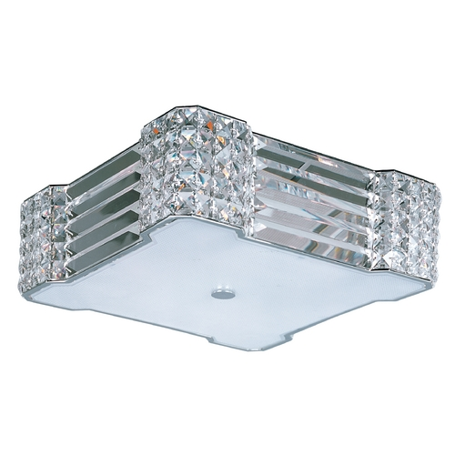 Maxim Lighting Maxim Lighting Manhattan Polished Chrome Flushmount Light 39780BCPC