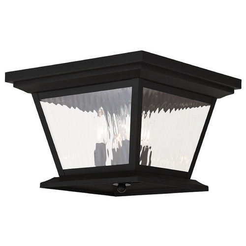 Livex Lighting Livex Lighting Hathaway Black Close To Ceiling Light 20249-04