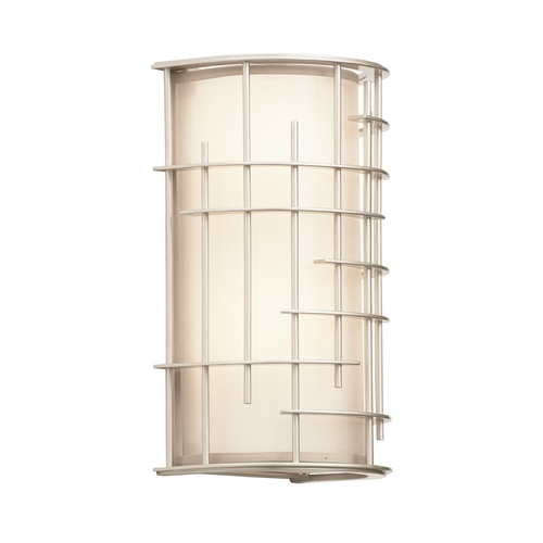 Kalco Lighting Kalco Lighting Atelier Tarnished Silver Sconce 6481TS