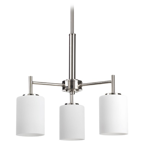 Progress Lighting Progress Lighting Replay Polished Nickel Mini-Chandelier P4318-104