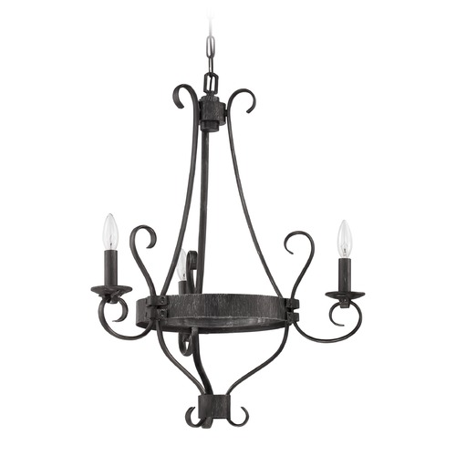 Craftmade Lighting Craftmade Ellsworth Charcoal Chandelier 37923-CHL