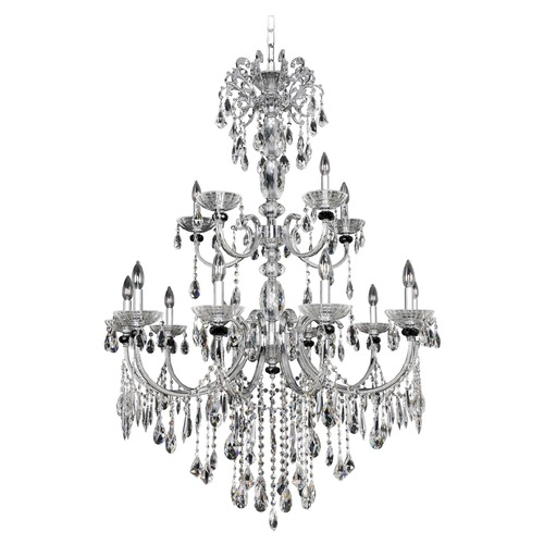 Allegri Lighting Steffani 15 Light Crystal Chandelier 024254-010-FR001