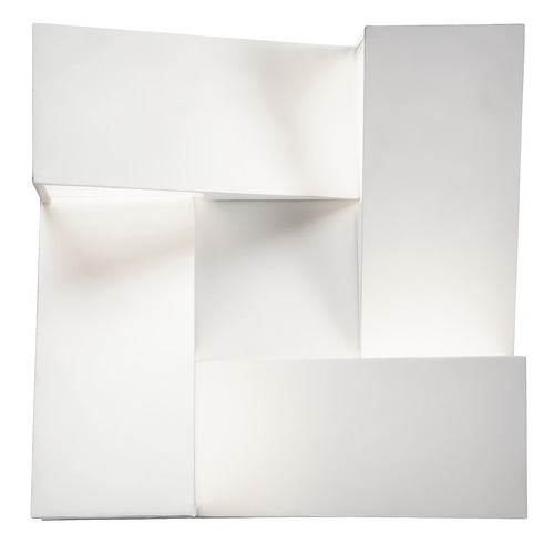 Elan Lighting Elan Lighting Javan White LED Sconce 83366