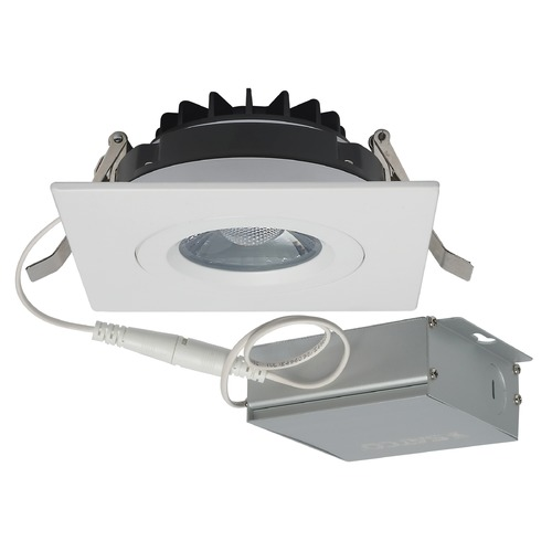 Satco Lighting Satco Lighting White LED Recessed Kit S11621