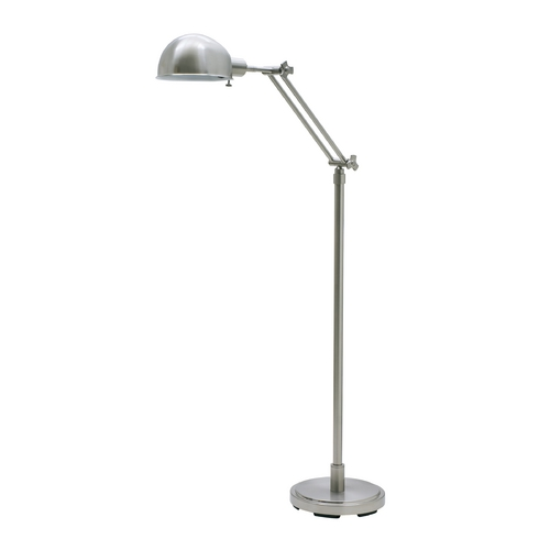 House of Troy Lighting Pharmacy Lamp in Satin Nickel Finish AD400-SN