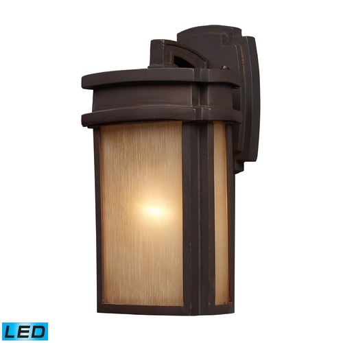 Elk Lighting Elk Lighting Sedona Clay Bronze LED Outdoor Wall Light 42140/1-LED