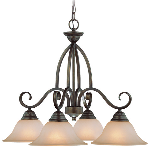 Jeremiah Lighting Jeremiah Gatewick Century Bronze Chandelier 26024-CB