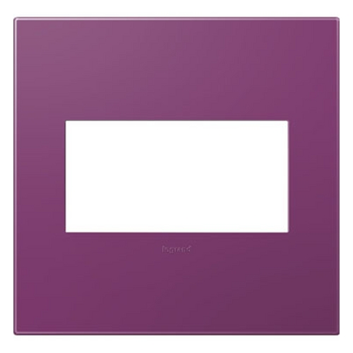 Legrand Adorne Legrand Adorne Plum 2-Gang Switch Plate AWP2GPL4