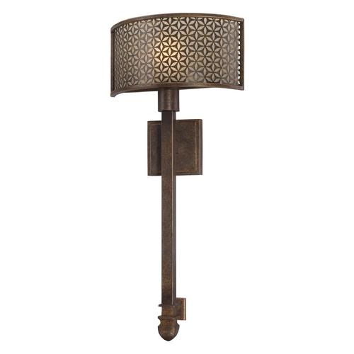Metropolitan Lighting Sconce Wall Light in French Bronze Finish N2721-258