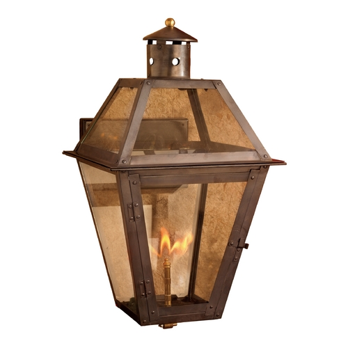 Elk Lighting Outdoor Wall Light with Clear Glass in Washed Pewter Finish 7933-WP