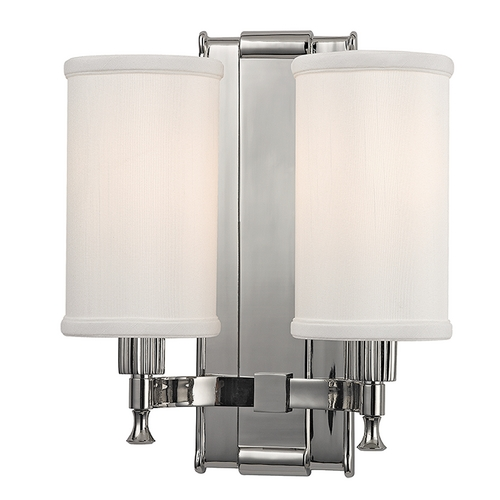 Hudson Valley Lighting Hudson Valley Lighting Palmdale Polished Nickel Sconce 1122-PN