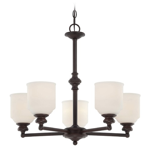 Savoy House Savoy House English Bronze Chandelier 1-6837-5-13