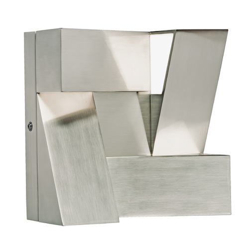 Elan Lighting Elan Lighting Javan Brushed Nickel LED Sconce 83367