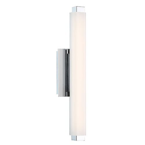 Modern Forms by WAC Lighting Modern Forms Mini Vogue Chrome LED Vertical Bathroom Light 3500K 784LM WS-21712-35-CH