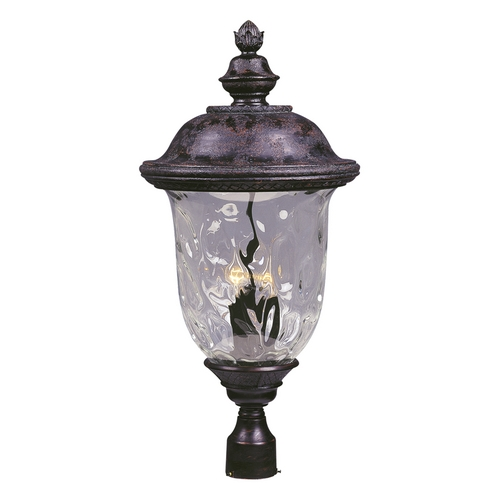Maxim Lighting Maxim Lighting Carriage House Dc Oriental Bronze Post Light 3421WGOB