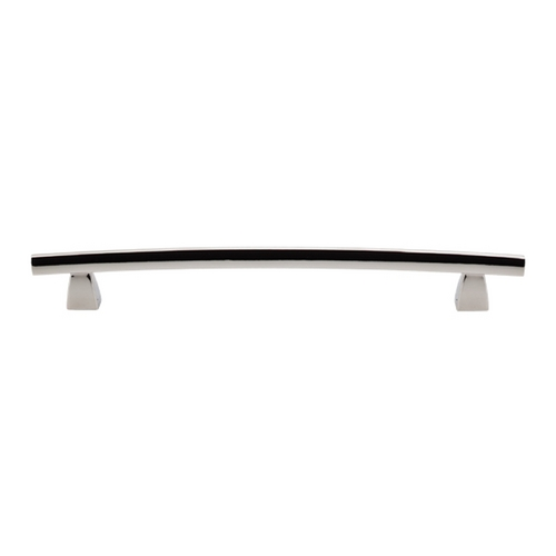 Top Knobs Hardware Modern Cabinet Pull in Polished Nickel Finish TK5PN
