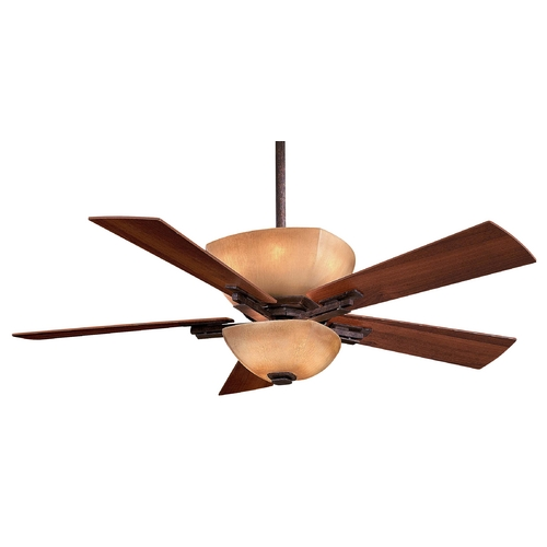 Minka Aire Ceiling Fan with Five Blades and Light Kit F812-IO