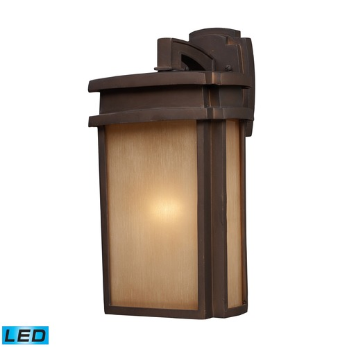 Elk Lighting Elk Lighting Sedona Clay Bronze LED Outdoor Wall Light 42141/1-LED